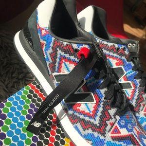 reputable site 067e2 7eb9e Ricardo Seco x New Balance 574 Sneakers Leather NWT